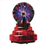 3 Inch Plasma Ball - Red Base | Accessories