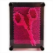 Pink Neon Pin Art | Merchandise