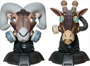 Sideshow Originals - Ram & Giraffe Designer Toy   Merchandise