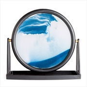 Round Blue Sand Art | Homewares