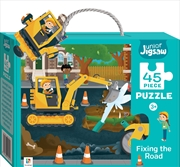 Fixing The Road Junior Jigsaw - 45 Piece Puzzle | Merchandise