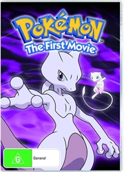Pokemon - Mewtwo Strikes Back - Movie 1 | DVD