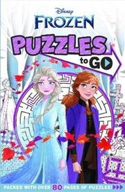 Frozen: Puzzles To Go! (disney) | Paperback Book