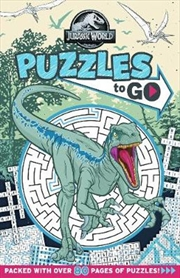 Jurassic World: Puzzles To Go! (universal) | Paperback Book