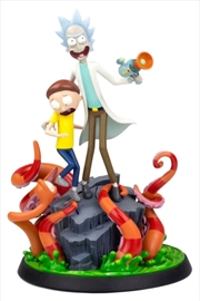 Rick and Morty - Rick and Morty Statue | Merchandise