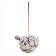 Stone Buddha Incense Burner | Homewares