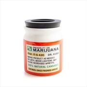 Small Prescription Marijuana Stash It! Storage Jar | Merchandise