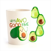 Avocado 3D Handle Mug | Merchandise