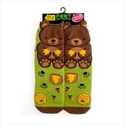 Bear Feet Speak Socks | Apparel