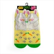 Bunny Feet Speak Socks | Apparel