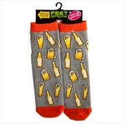 Beer Feet Speak Socks | Apparel