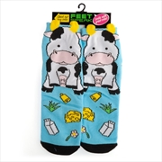 Cow Feet Speak Socks | Apparel