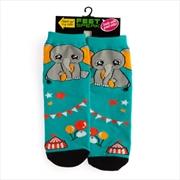 Elephant Feet Speak Socks | Apparel