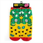 Triceratops Feet Speak Socks | Apparel