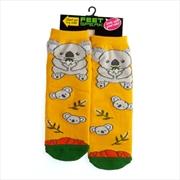 Big Koala Feet Speak Socks | Apparel