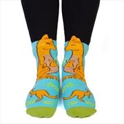 Big Kangaroo Feet Speak Socks | Apparel