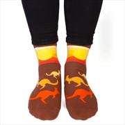 Kangaroo Feet Speak Socks | Apparel