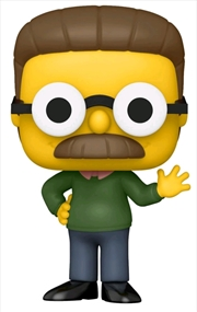 The Simpsons - Ned Flanders Lefty US Exclusive Pop! Vinyl [RS] | Pop Vinyl