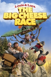 Louis And Luca - Big Cheese Race | DVD