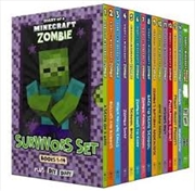 Diary Of A Minecraft Zombie: Survivors Set | Paperback Book