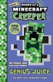Diary Of A Minecraft Creeper #7: Genius Juice | Paperback Book