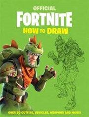 Fortnite Official How To Draw | Paperback Book