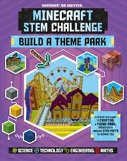 Minecraft Stem Challenge - Build A Theme Park (paperback) | Paperback Book