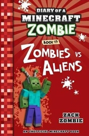 Diary Of A Minecraft Zombie #19: Zombies Vs. Aliens (paperback) | Paperback Book