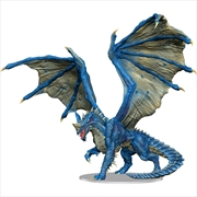 Dungeons & Dragons - Icons of the Realms Adult Blue Dragon Premium Figure | Games