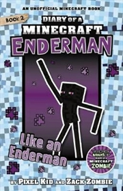 Diary Of A Minecraft Enderman #2: Like An Enderman (paperback) | Paperback Book
