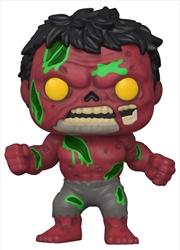Marvel Zombies - Red Hulk Pop! Vinyl | Pop Vinyl