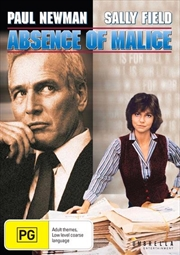 Absence Of Malice | DVD