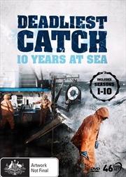 Deadliest Catch - 10 Years at Sea - Season 1-10 | DVD