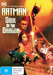 Batman - Soul Of The Dragon | DVD