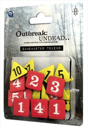 Outbreak Undead 2nd Edition RPG Gamemasters Tokens | Merchandise