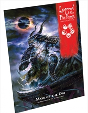 Legend of Five Rings RPG Mask of the Oni Adventure Book | Merchandise