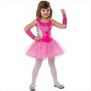 Spidergirl Pink Tutu Dress: L   Apparel