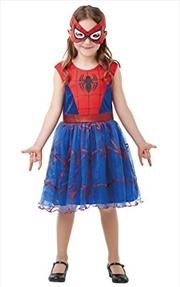 Spidergirl Dlx Tutu: 9-10 Yrs   Apparel
