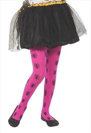Spidergirl Pink Tights   Apparel