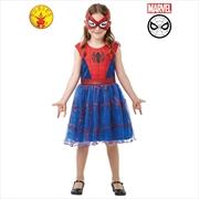 Spidergirl Costume: Size 4-6   Apparel