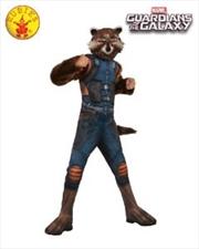 Rocket Raccoon Dlx: L 8-10yrs   Apparel