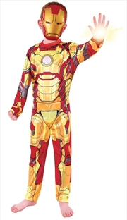 Iron Man Standard: Size 6-8   Apparel