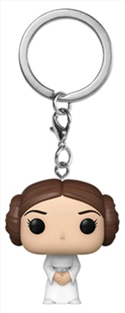 Star Wars - Princess Leia Pocket Pop! Keychain | Pop Vinyl