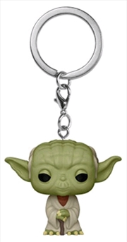 Star Wars - Yoda Pocket Pop! Keychain | Pop Vinyl