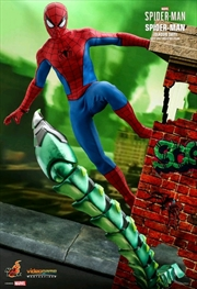 """Spider-Man (Video Game 2018) - Spider-Man Classic Suit 1:6 Scale 12"""" Action Figure 