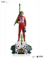 Ayrton Senna - 1991 1:10 Scale Statue | Merchandise