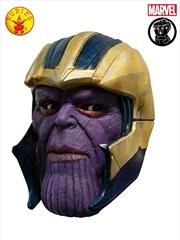 Thanos Avg4 3/4 Mask: Adult | Apparel