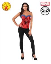 Spidergirl Classic Corset: L   Apparel