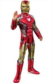 Iron Man Dlx Avg4 Costume: M   Apparel