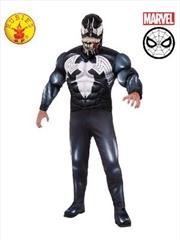 Venom Deluxe Costume: Size Std | Apparel